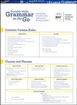 Grammar on the Go: A Handy Guide for Faultless Fixes to Writing with Structure and Style  -