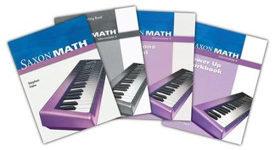 Saxon Math Intermediate 4 Homeschool Kit   -