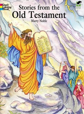 Stories from the Old Testament Coloring Book  -     By: Marty Noble