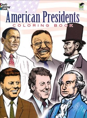American Presidents Coloring Book  -     By: Peter F. Copeland