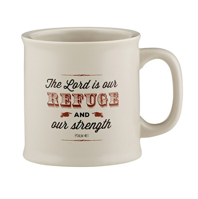 Refuge & Strength Mug  -