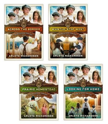 Beyond the Orphan Train Series, Volumes 1-4  -     By: Arleta Richardson
