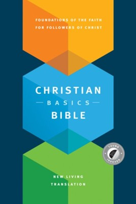 NLT Christian Basics Bible, Hardcover with Thumb Index  -     By: Martin Manser, Michael H. Beaumont
