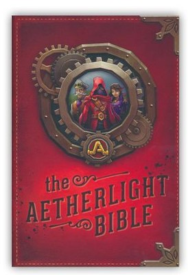 NLT The Aetherlight Bible: Chronicles of the Resistance, Softcover  -     By: Tyndale &  Scarlet City