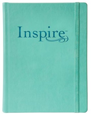 NLT Inspire Bible: The Bible for Creative Journaling, Teal  -     By: Tyndale     Illustrated By: Christian Art