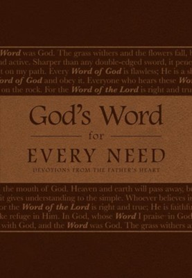 God's Word for Every Need: Devotions from the Father's Heart  -     By: Mark Stibbe