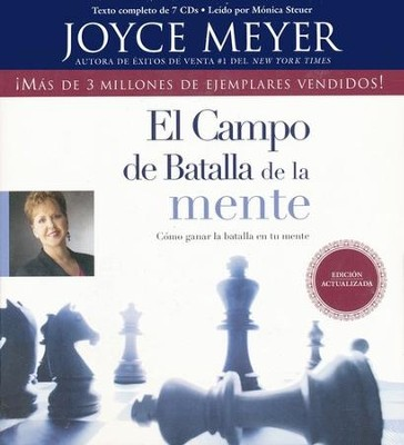 El Campo de Batalla de la Mente, The Battlefield of the Mind, Audiobook  -     By: Joyce Meyer
