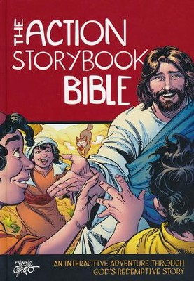 The Action Storybook Bible  -     By: Catherine DeVries     Illustrated By: Sergio Cariello