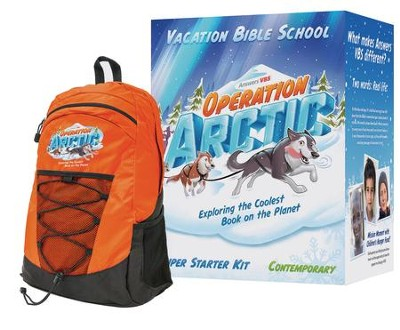 Operation Arctic Super Starter VBS Kit with Traditional Music  -