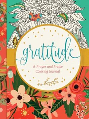 Gratitude: A Prayer and Praise Coloring Journal  -