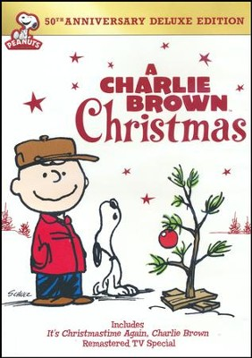 A Charlie Brown Christmas, 50th Anniversary Deluxe Edition, DVD   -