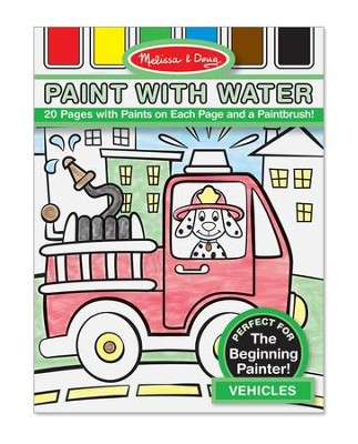 Vehicles, Paint with Water  -