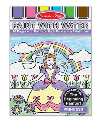 Princess, Paint with Water  -