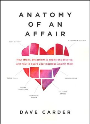 Anatomy of an Affair: How Affairs, Attractions & Addictions Develop, and How to Guard Your Marriage  -     By: Dave Carder