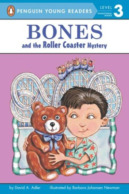 Bones and the Roller Coaster Mystery  -     By: David A. Adler, Barbara Johansen Newman