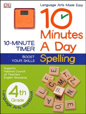 10 Minutes a Day: Spelling Grade 4  -