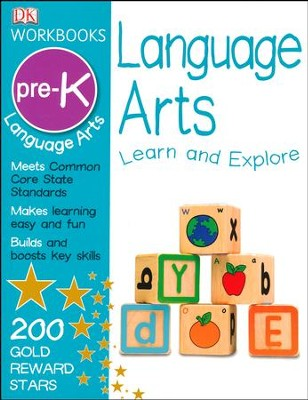 DK Workbooks: Language Arts Grade Pre-K  -