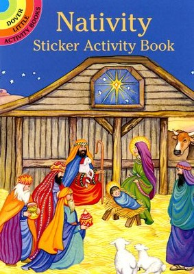 Nativity Sticker Activity Book   -     By: Marty Noble