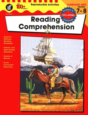 The 100+ Series: Reading Comprehension, Grades 7-8   -