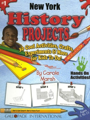 New York History Project Book, Grades 3-8  -     By: Carole Marsh