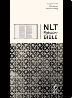 NLT Reflections: The Bible for Journaling, Hardcover Black  -     By: Tyndale