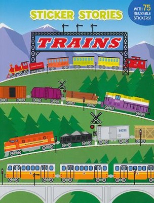 Trains Sticker Stories  -     By: Edward Miller