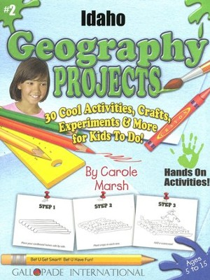 Idaho Geography Project Book, Grades K-8  -     By: Carole Marsh