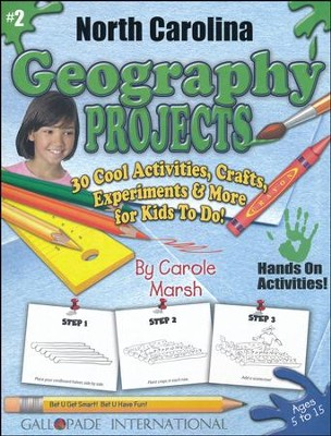 North Carolina Geography Projects   -     By: Carole Marsh