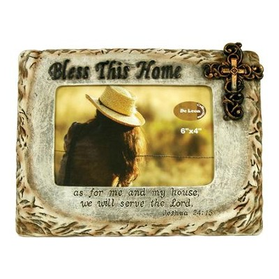 Bless This Home Photo Frame  -
