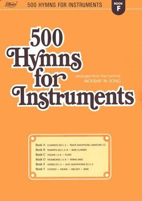 500 Hymns for Instruments, Book F  -     By: Harold Lane