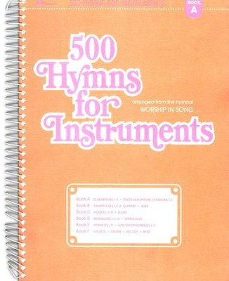 500 Hymns for Instruments Book A  -