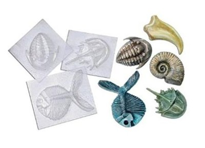 Fossil Molds (5 designs)   -