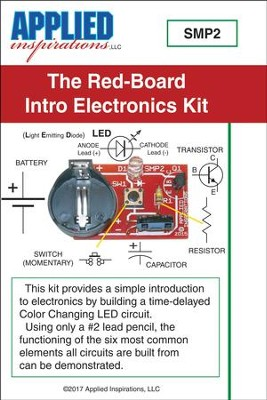 Red-Board Kit: Introduction into Electronics and Soldering  -