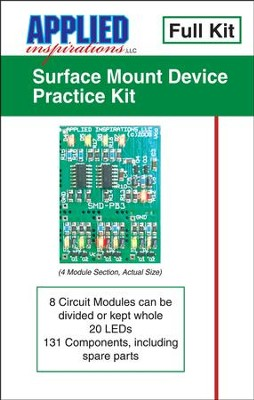 Surface Mount Soldering Practice Kit   -