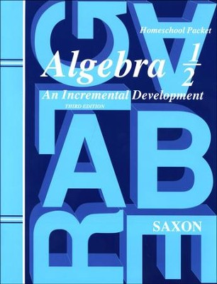 Saxon Algebra 1/2 Answer Key & Test Forms, 3rd Edition   -     By: Saxon