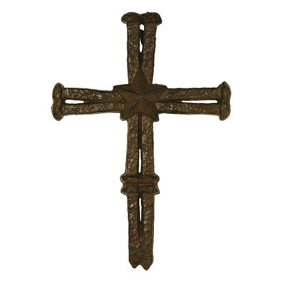 Nails Cast Iron Wall Cross  -