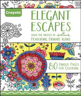 Elegant Escapes Coloring Book for Adults  -     By: Hallmark Artists