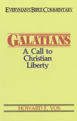 Galatian: Everyman's Bible Commentary  -     By: Howard F. Vos