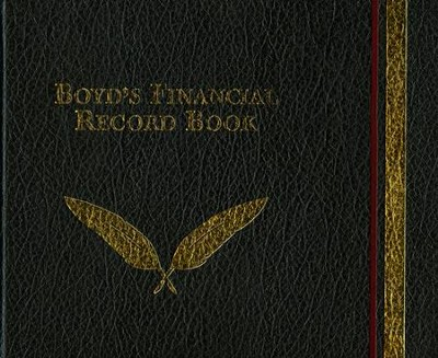 Boyd's Financial Record Book  -