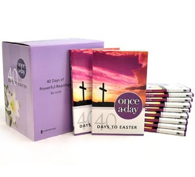 Once-A-Day 40 Days to Easter Devotional, 20 Pack   -     By: Kenneth D. Boa