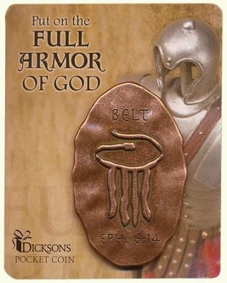 Full Armor of God Pocket Stone, Belt  -