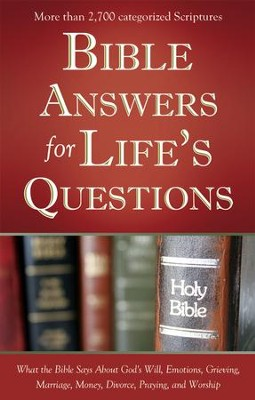 Bible Answers for Life's Questions - eBook  -