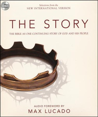 Story, NIV: The Bible as One Continuous Story of God and His People, Audio CD - Slightly Imperfect  -
