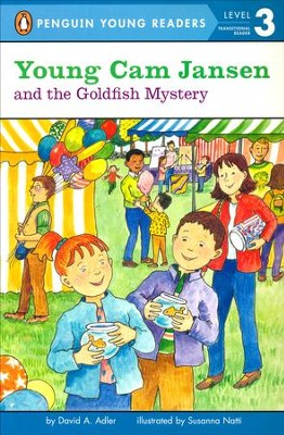 #19: Young Cam Jansen and the Goldfish Mystery  -     By: David A. Adler     Illustrated By: Susanna Natti