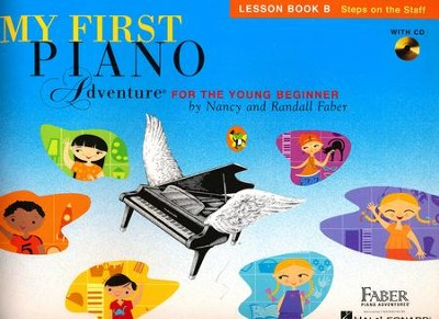 My First Piano Adventure-Lesson B (Book/CD)   -
