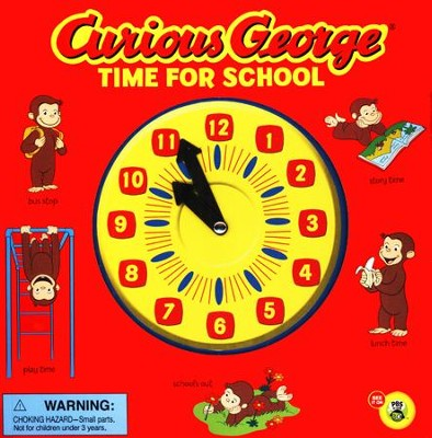 Curious George Time for School (CGTV Novelty 8x8)  -     By: H.A. Rey