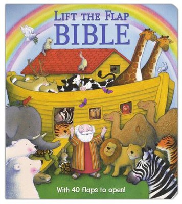 Lift the Flap Bible   -     By: Sally Lloyd-Jones     Illustrated By: Tracey Maroney