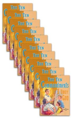 The Ten Commandments - 10 pack   -     By: Lawrence G. Lovasik