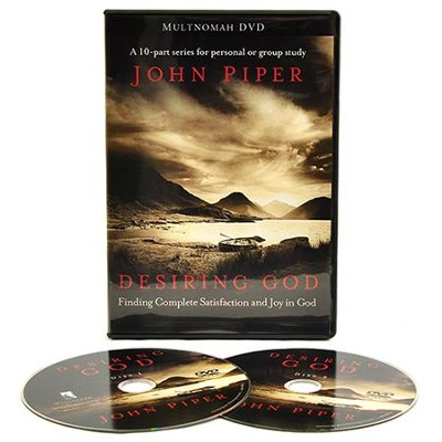 Desiring God: Finding Complete Satisfaction and Joy in God, DVD  Edition  -     By: John Piper