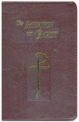 The Imitation of Christ, Burgundy Bonded Leather,   Zippered  -     By: Thomas a Kempis